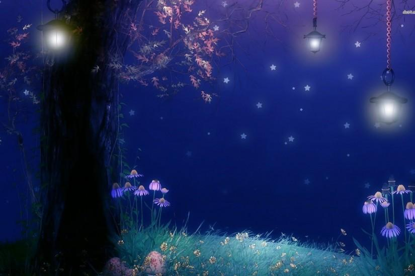 Night time wallpaper - Digital Art wallpapers - #