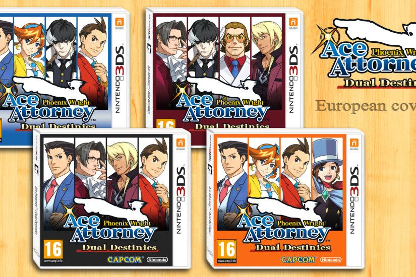 Ace Attorney Dual Destinies - Alternate covers EU by Anthiflo on .