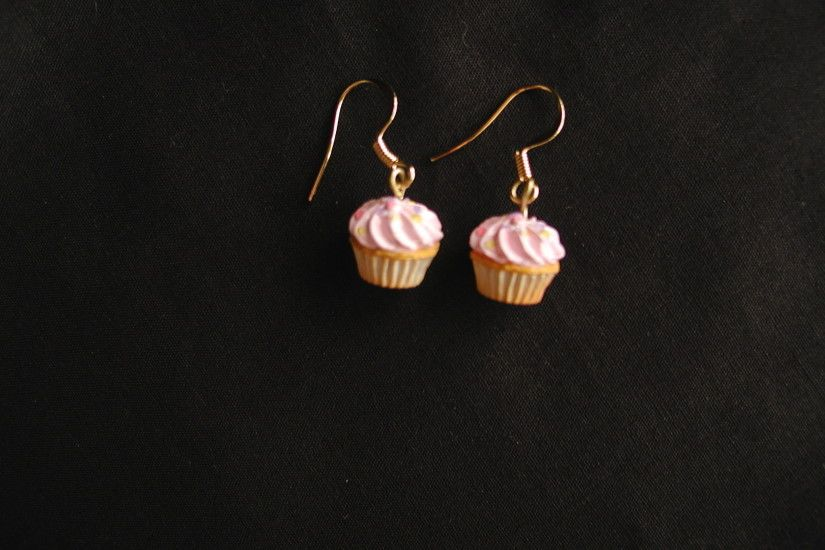 Cute Cupcakes images Miniature cupcake earrings HD wallpaper and background  photos