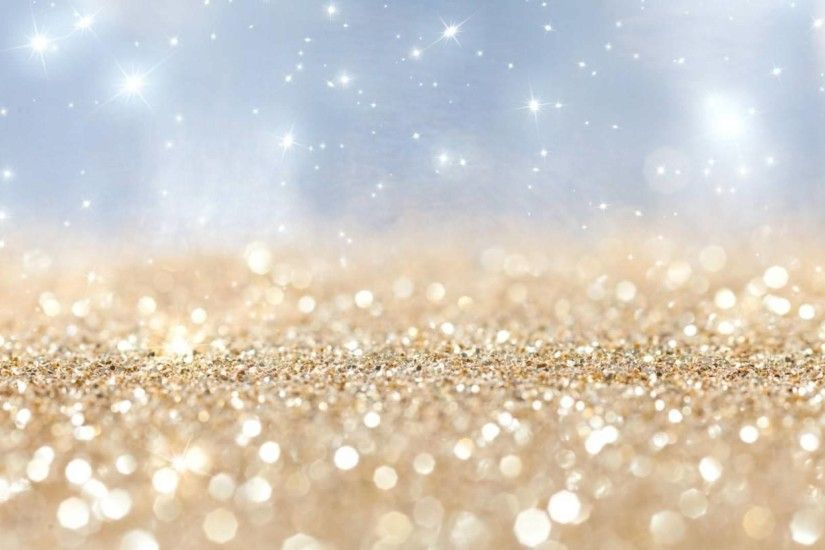 gold-and-white-glitter-background
