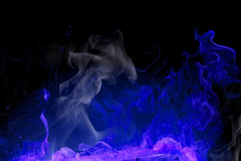 Blue flames - (#156812) - High Quality and Resolution Wallpapers .