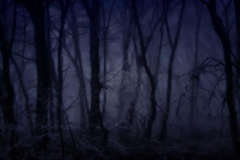 Creepy Forest Wallpaper 1920x1080 Creepy, Forest, Fog
