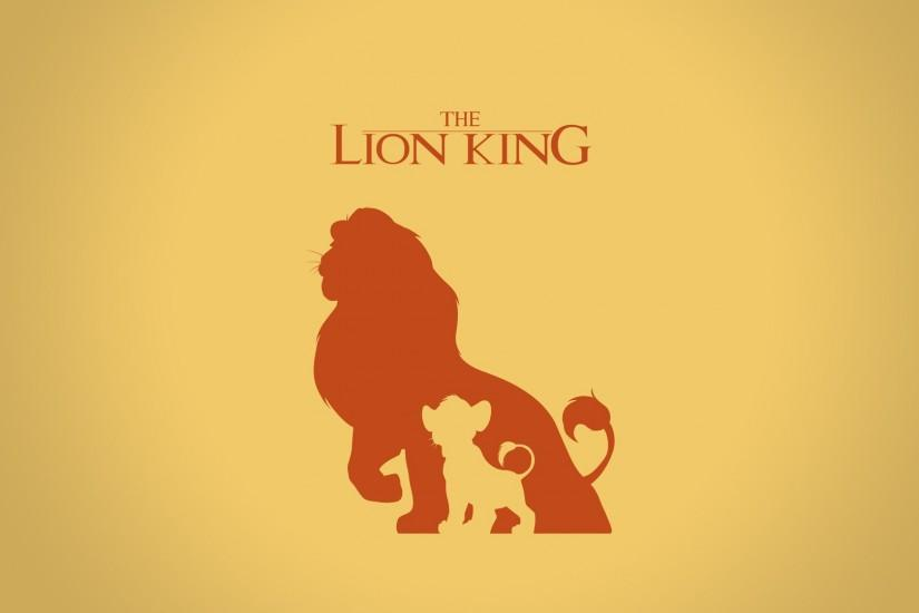 Digital Art Disney Company Minimalistic Movies The Lion King Vectors  Wallpaper