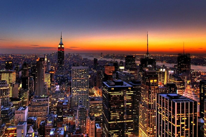 New York City Night Wallpaper - WallpapersDB