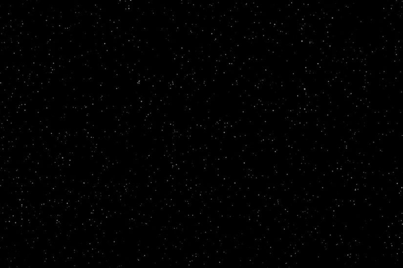Space Flying Star on a black background