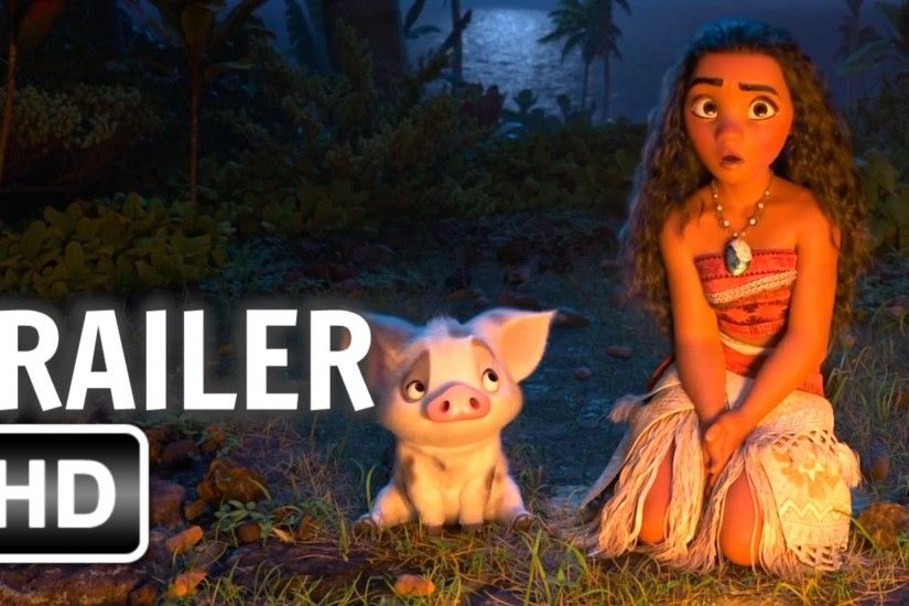Moana Official Trailer [2016 HD] Dwayne Johnson Animated Movie HD - YouTube