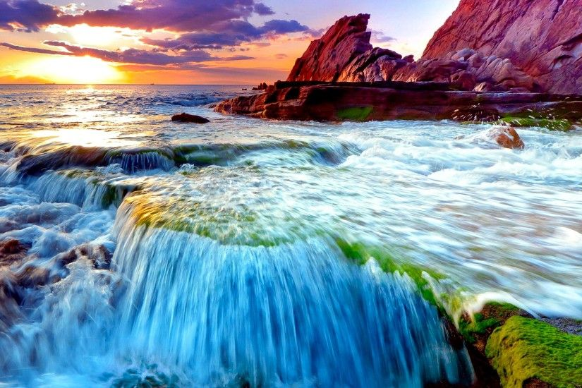Spectacular HD Waterfall Wallpapers to Download