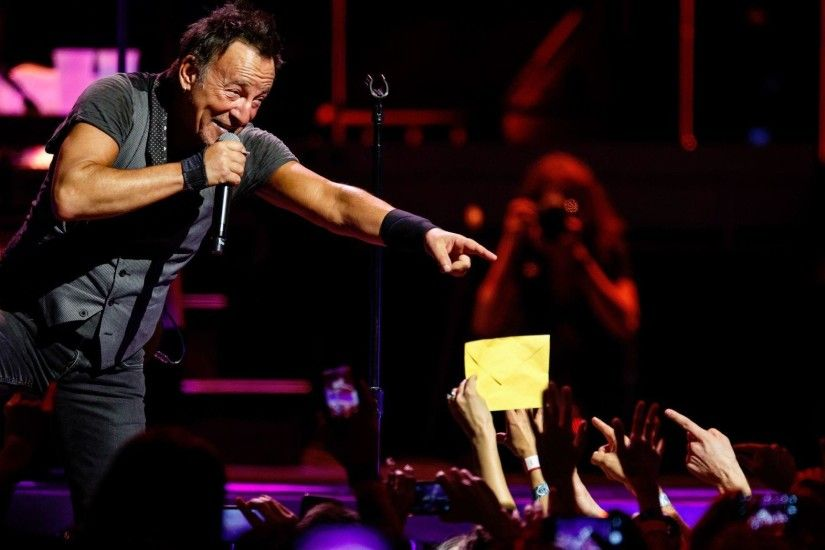 Bruce Springsteen announced Wednesday that he would make his Broadway debut  in October. (Marcus