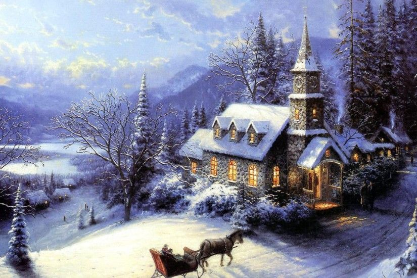 Thomas Kinkade Christmas 469552