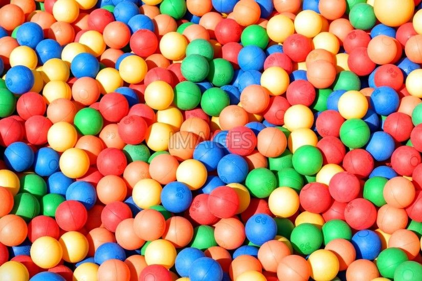 Ball Pit, Balls, Colorful, Background
