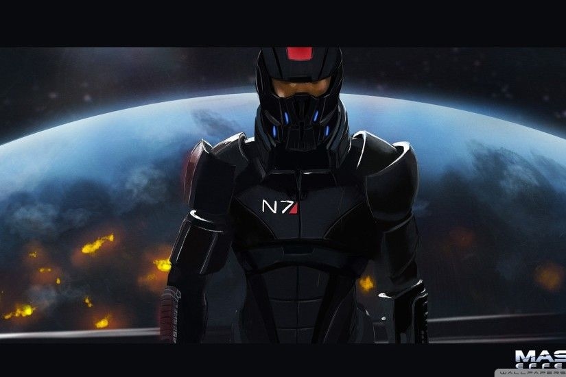HD 169 Mass Effect Wallpaper Hd