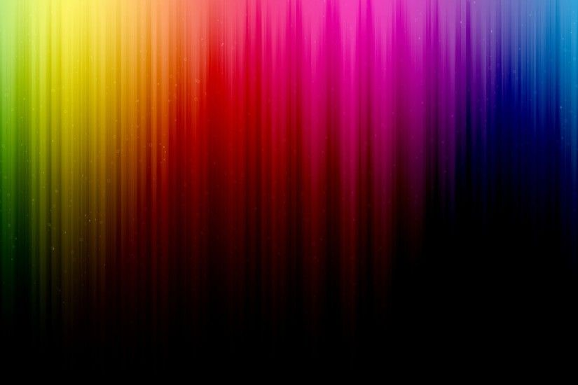 2048x1152 Wallpaper line, rainbow, background, shadow, stripes, vertical