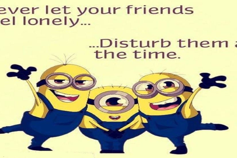 Top-30-Funny-Minions-Friendship-hd-free-wallpapers-