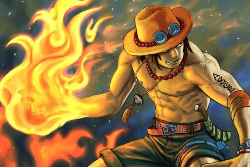 One Piece Ace Background Wallpaper - HD Wallpapers