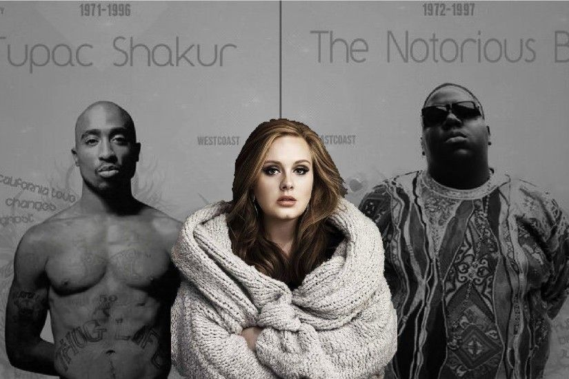 Adele - Hello Feat Biggie Smalls & 2pac 2016 - YouTube