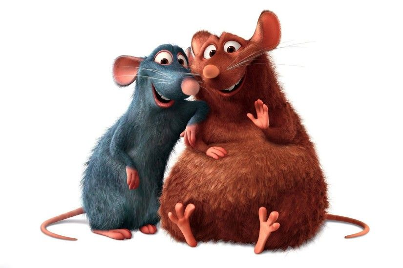 Ratatouille, Remy and Emile