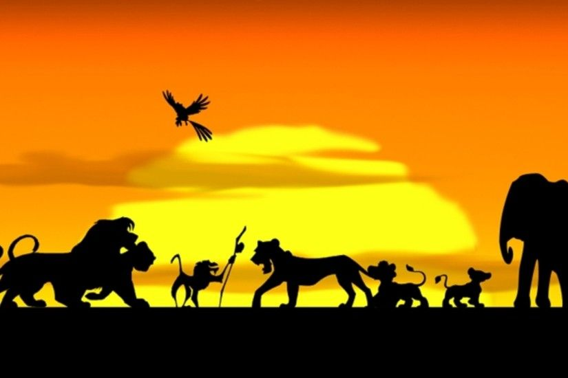Lion king hakuna matata silhouette - photo#18