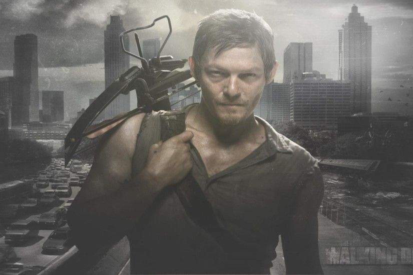1920x1080 The Walking Dead Daryl Dixon Wallpaper
