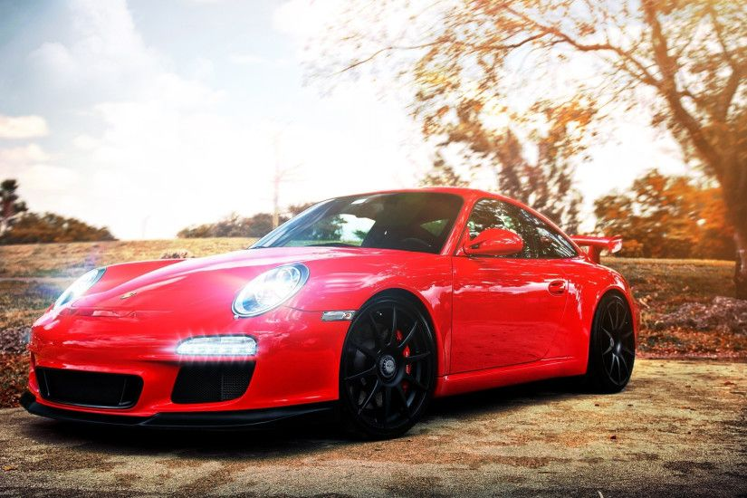 Preview wallpaper porsche, auto, car, cars, red 3840x2160