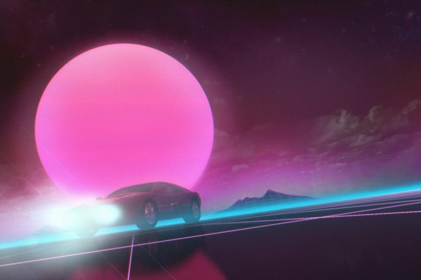 amazing synthwave wallpaper 1920x1080 for mac