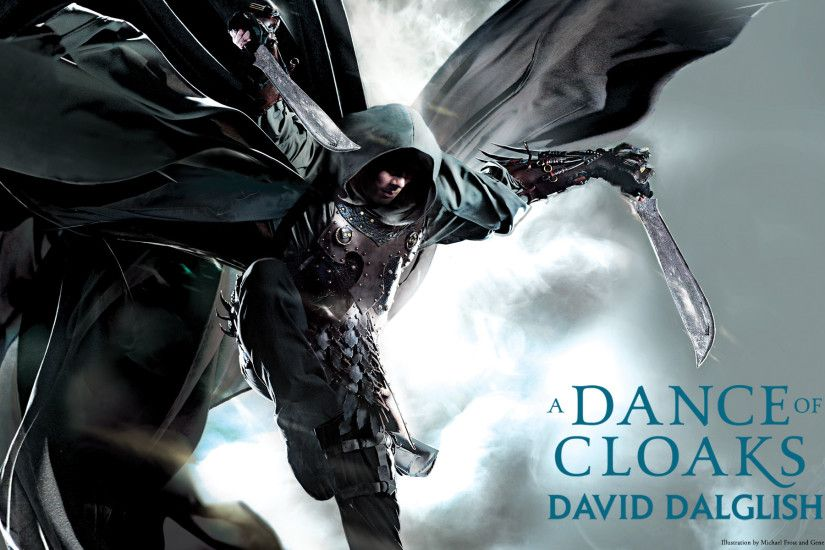 New Wallpapers: A DANCE OF CLOAKS by David Dalglish