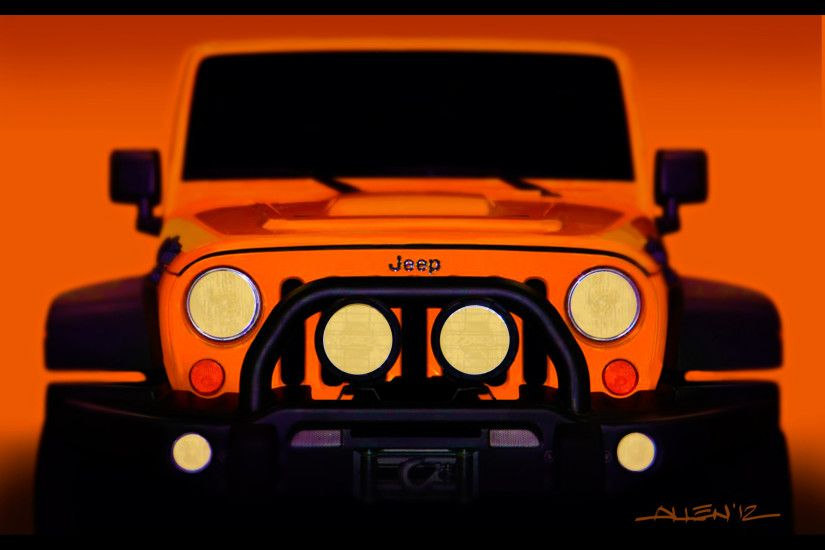 2012 Jeep Moab Easter Safari Concepts - Jeep Wrangler Traildozer Sketch -  1920x1440 - Wallpaper