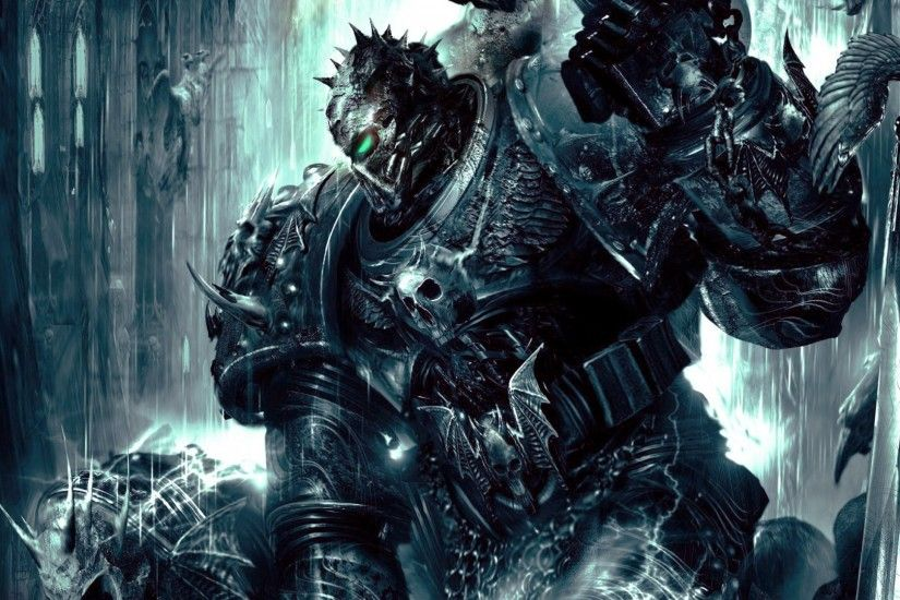 General 1920x1080 Chaos Space Marine Warhammer 40,000 Dawn of War 2 Soul  Hunter creature Chaos