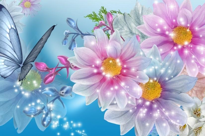 flowers wallpaper 1920x1080 for android tablet