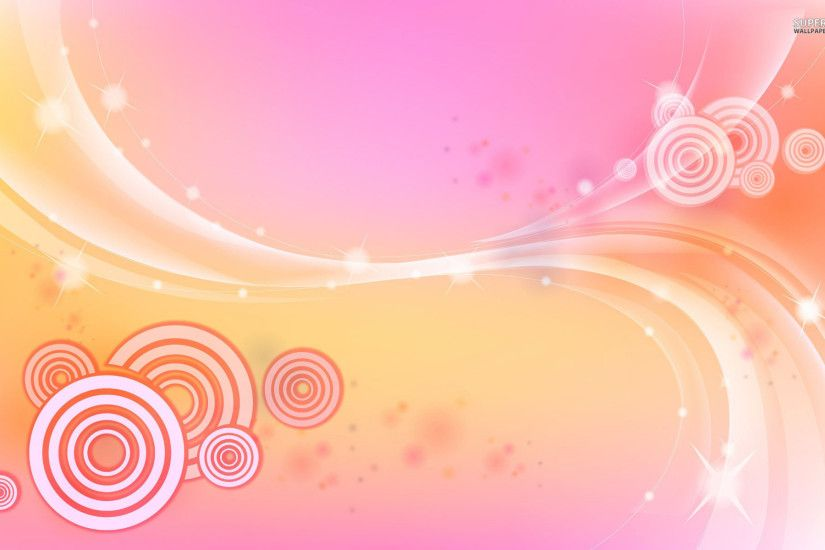 Light Pink Butterfly Wallpaper Circles and waves wallpaper