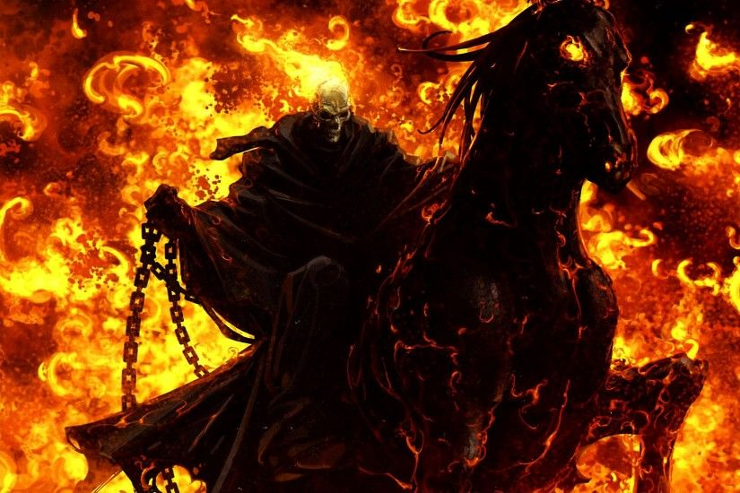 Free screensaver ghost rider