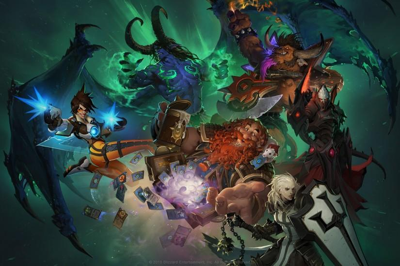free download hearthstone wallpaper 2560x1440 for mobile