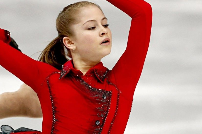 3840x1200 Wallpaper julia lipnitskaya, figure skating, figure skater, sochi  2014 olympic winter games