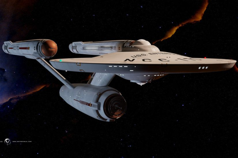 Star Trek, USS Enterprise (spaceship), Space, Battle Wallpapers HD .