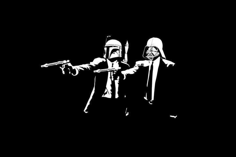 darth vader boba fett suits guns mafia
