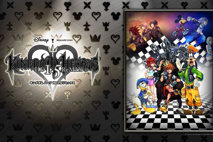 KINGDOM HEARTS -HD 1.5 ReMIX- Fan Campaign CM, Assorted Clips, & New  Wallpapers! - News - Kingdom Hearts Insider