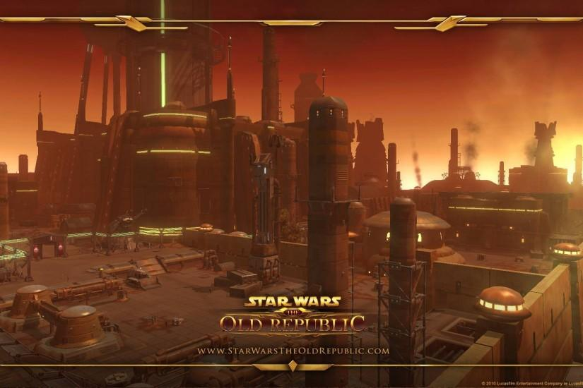 ... Star Wars: The Old Republic wallpaper 2 ...