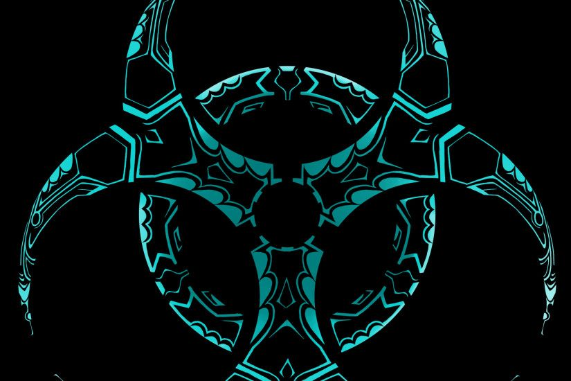 Tribal Biohazard by dragongirl00 on Clipart library