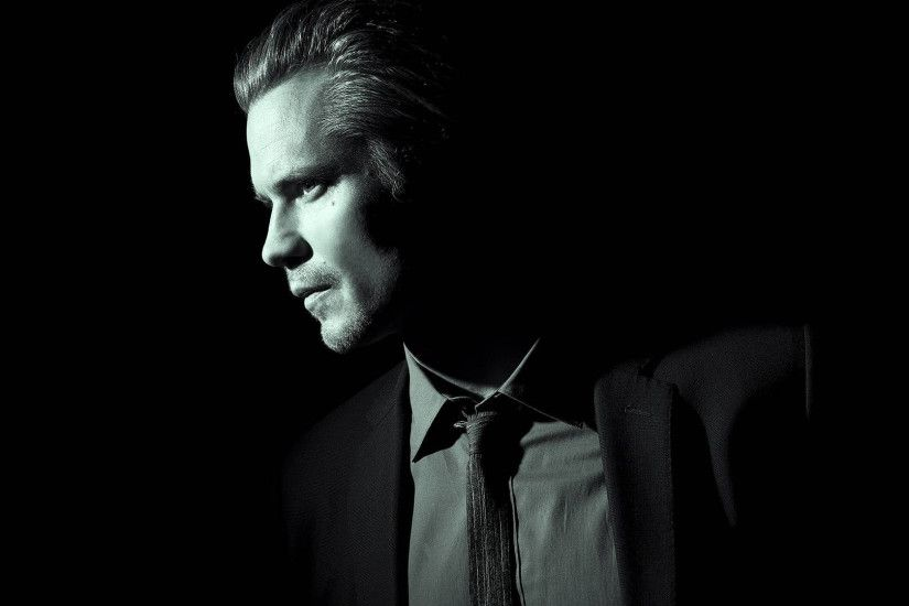3840x2160 Wallpaper timothy olyphant, justified, face