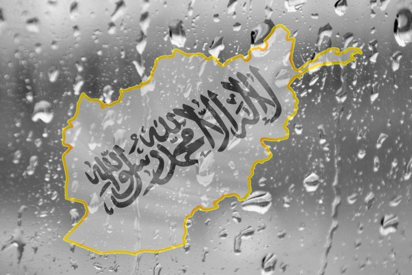 ... beautiful-flag-map-of Afghanistan-Rain-wallpaper by GULTALIBk