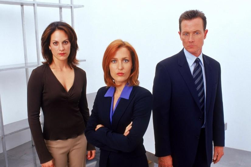Preview wallpaper the x files, dana scully, gillian anderson 3840x2160