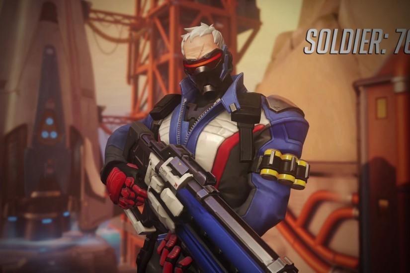 soldier 76 wallpaper 1920x1080 image