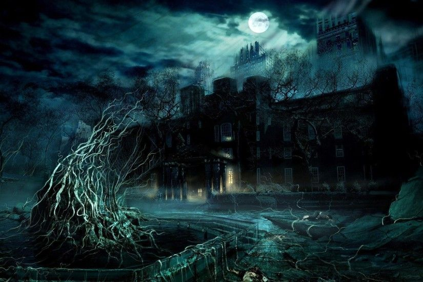 3D Wallpapers Free to Download. Haunted MansionHaunted ...