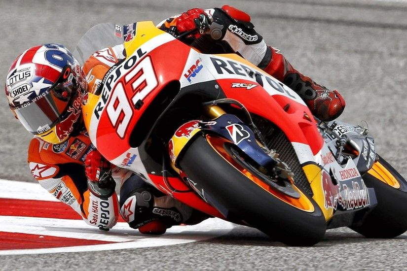 Marc Marquez HD wallpaper – MotoGP COTA Austin Texas