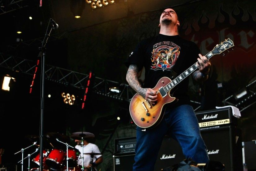 HATEBREED metalcore heavy metal thrash concert guitar wallpaper .