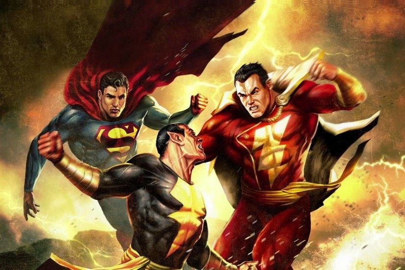 ... Superman Shazam The Return of Black Adam Wallpaper