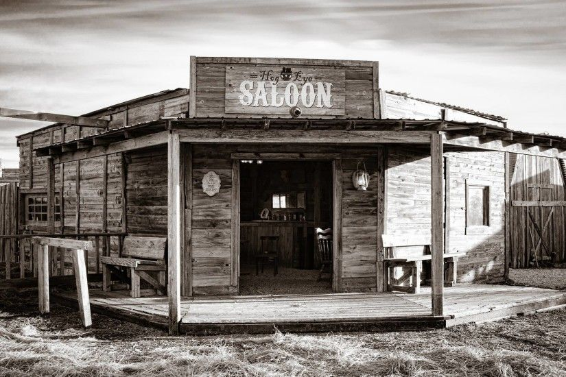 Saloon Bar Wild West Sepia american retro world history drinks .
