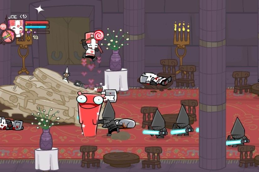 Pretty in Pink, new Castle Crasher on the way. Castle Crashers ...