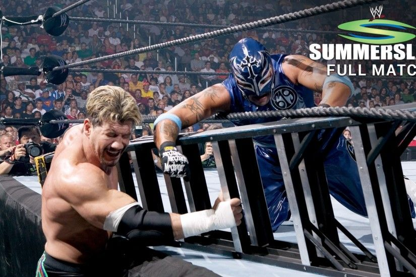 Rey Mysterio vs. Eddie Guerrero - Ladder Match: SummerSlam 2005 (Full Match  - WWE Network Exclusive) | WWE