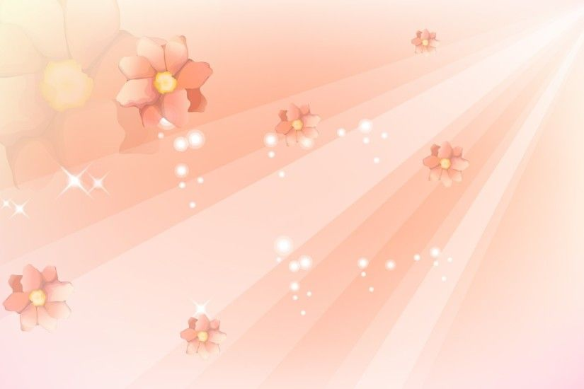 Bright Pink Flowers Background