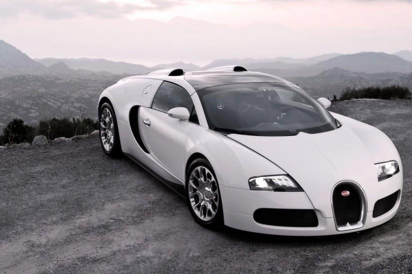 Preview wallpaper bugatti, veyron, cars, sport cars, white, hood, lights